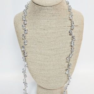 Jewelry - 💥3 for $25💥 Silver Twist Beaded Necklace